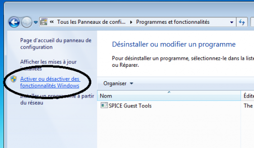 Gérer active directory avec son windows 7